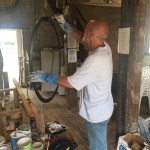 2015-08 Windmill working party - 1